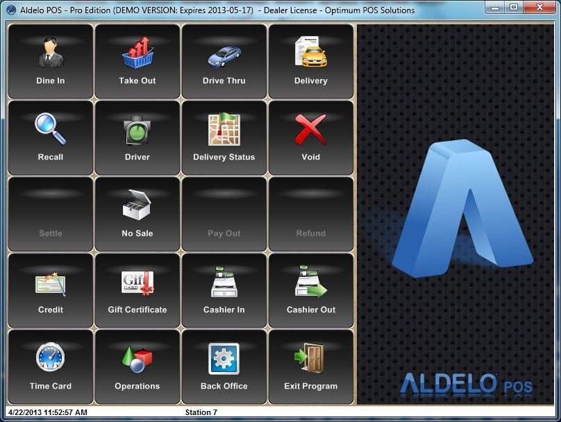 Aldelo pos for restaurants